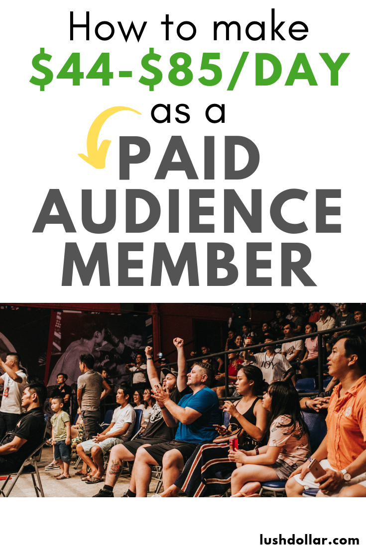 Get Paid $40+ w/ These 5+ Paid Audience Work Options ...