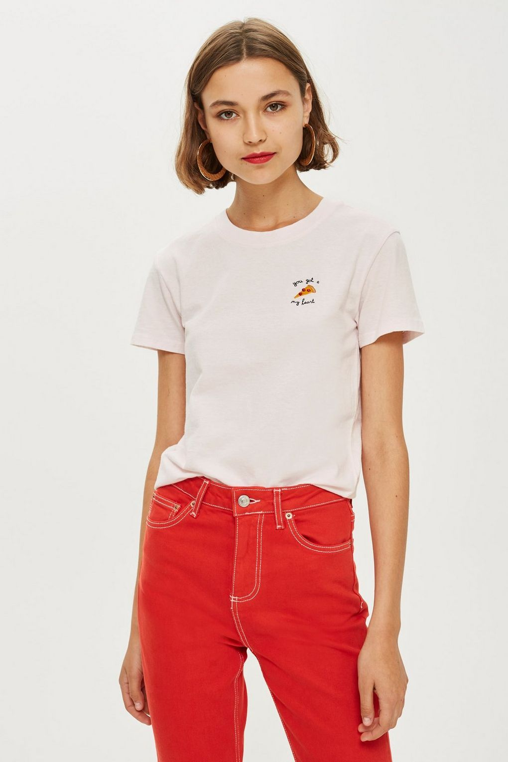 38f7b57d Pizza My Heart' T-Shirt - New In Fashion - New In | TopShop | Shirts ...