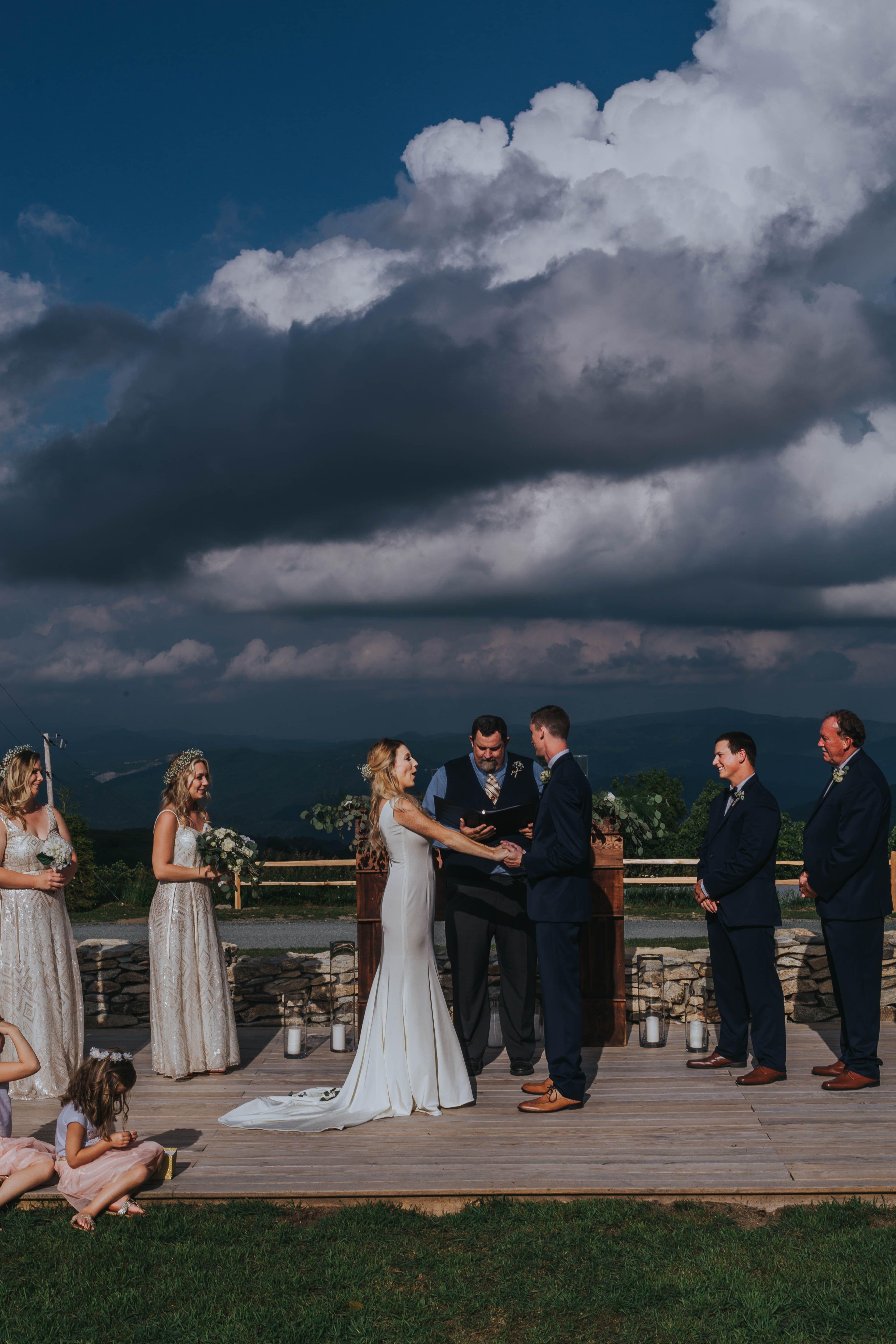North Carolina Mountain Wedding   Rustic wedding venues ...