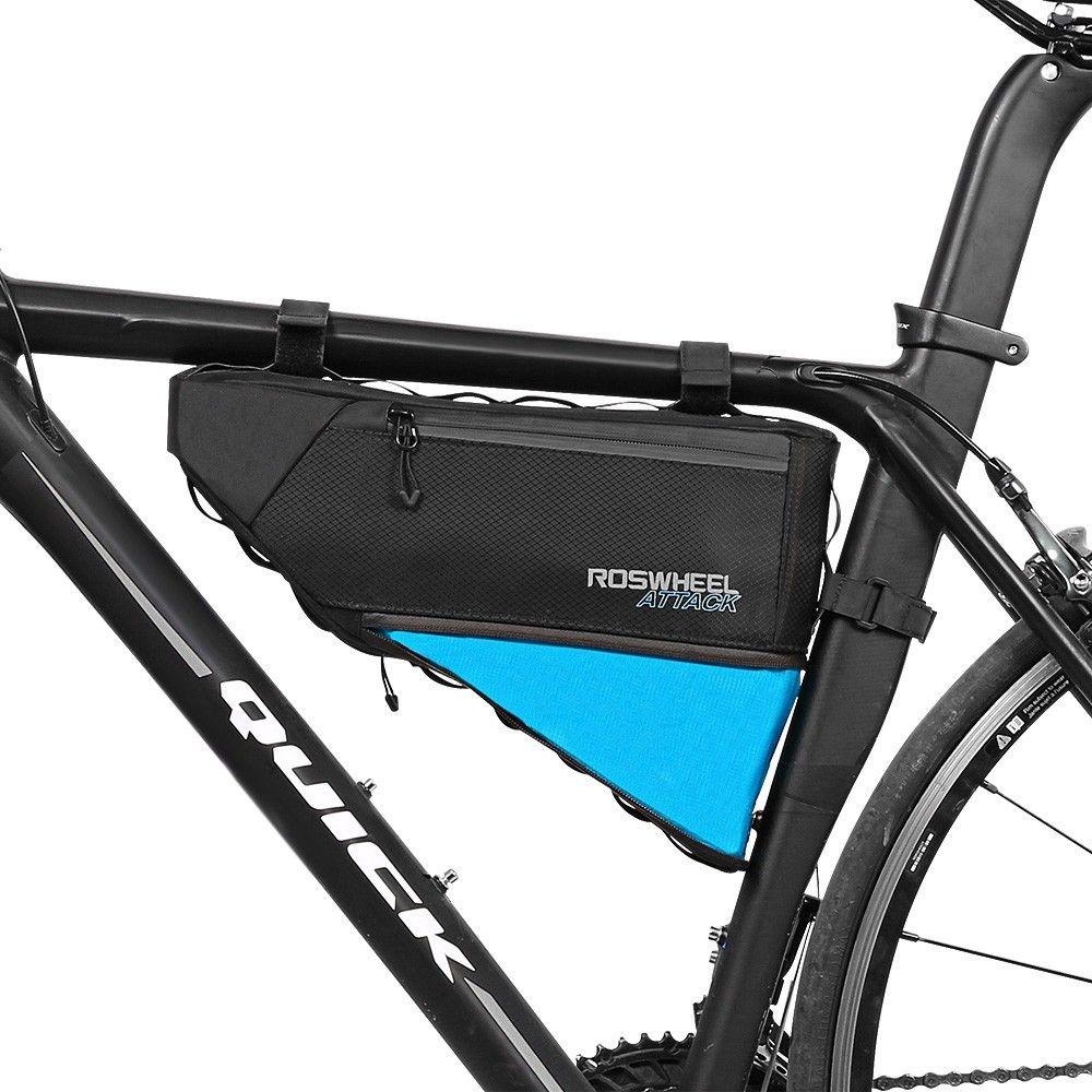 Roswheel 121371 Water Resistant 4l Bike Triangular Bag Bicycle