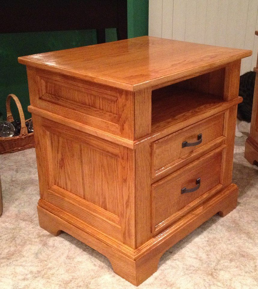 Oak Night Stand One Of Two - Stuff to keep me out of trouble - Gallery - Wood Talk Online