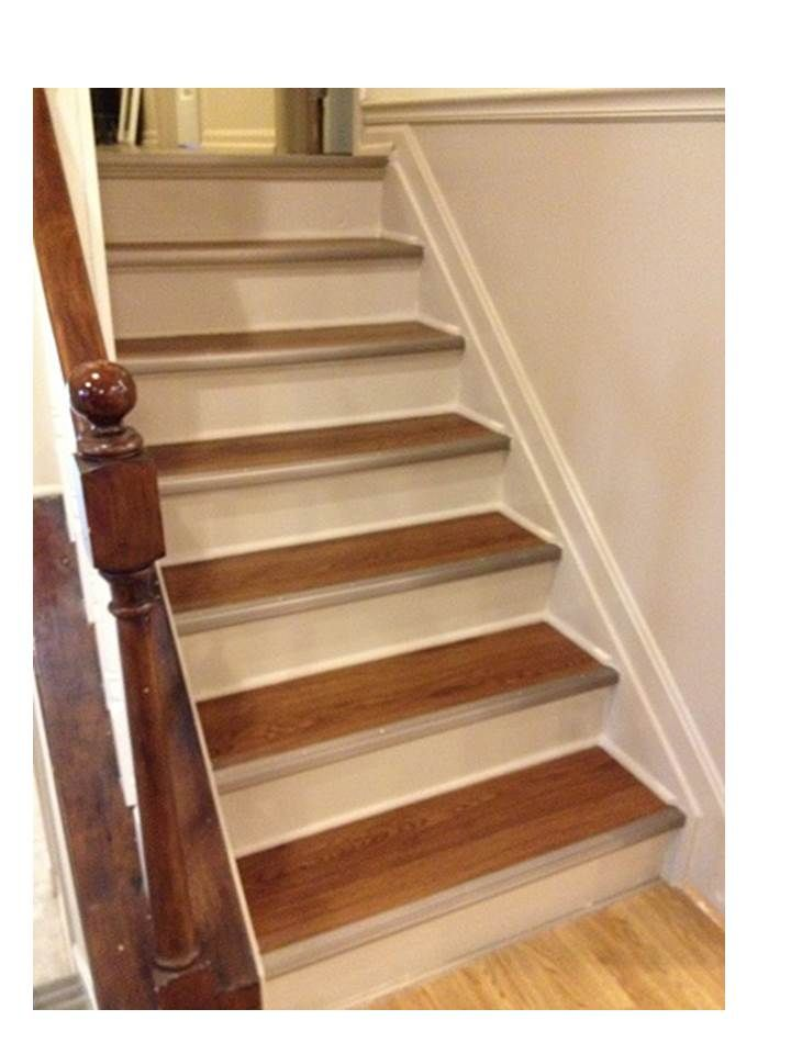 Refinished stairs do it yourself home projects from ana white refinished stairs do it yourself home projects from ana white solutioingenieria Image collections