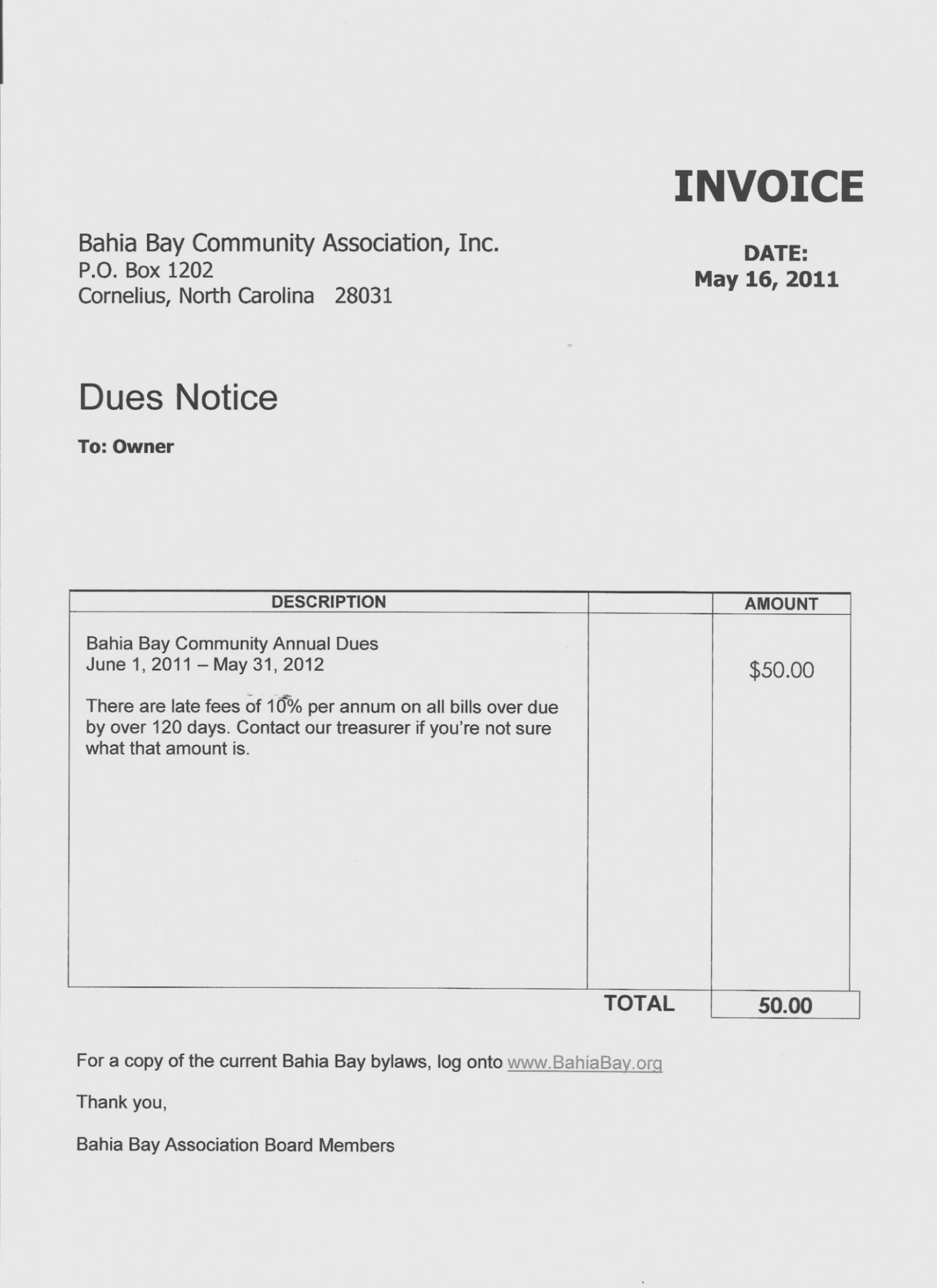 Browse Our Example Of Dues Invoice Template For Free Invoice Template Invoicing Templates