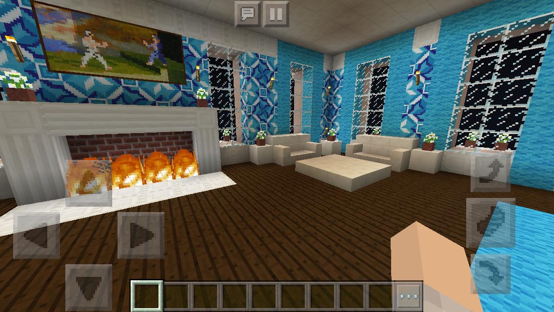 Richmond Manor Master Bedroom #minecraft #interior #design ...