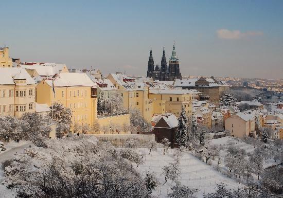 I would love to go to Prague. This is a photo of Prague Castle (Prazsky hrad)  (Belohradsky apr 2011)