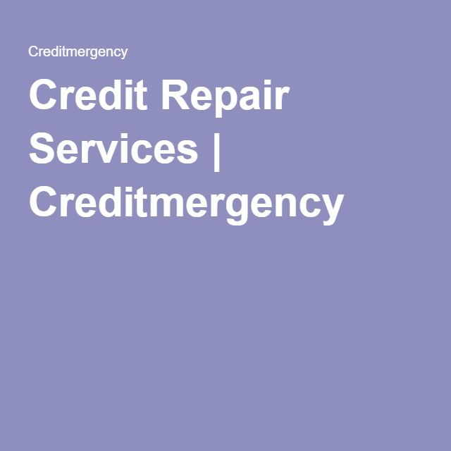Credit Repair Services | Creditmergency