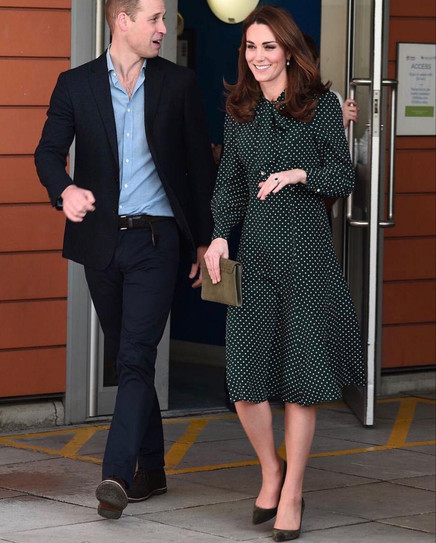 Kate Middleton In LK Bennett December 11, 2018