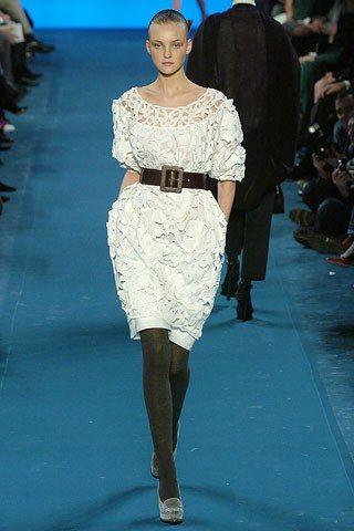Saint Laurent Fall 2005 Ready-to-Wear Fashion Show - Caroline Trentini (Elite)