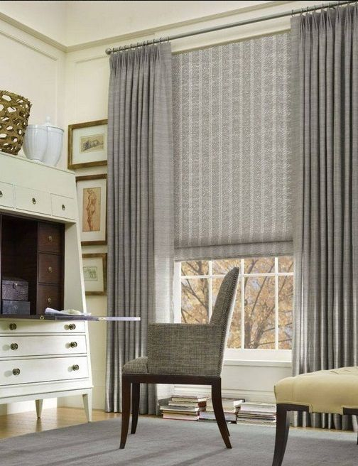 Gray Drapes Amp Gray Shades Curtains In 2019 Modern