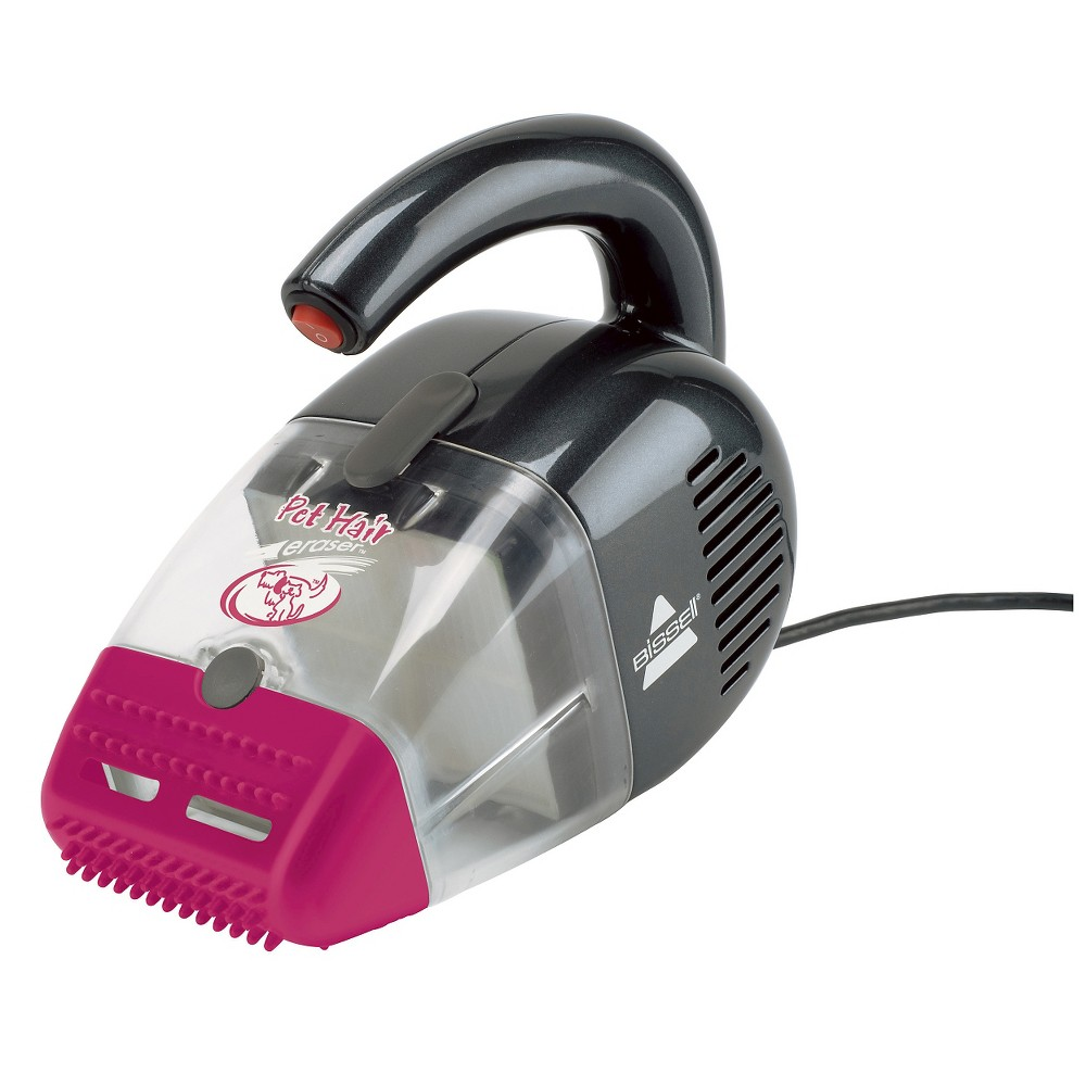 Bissell Pet Hair Eraser Corded Hand Vacuum Magenta Gray