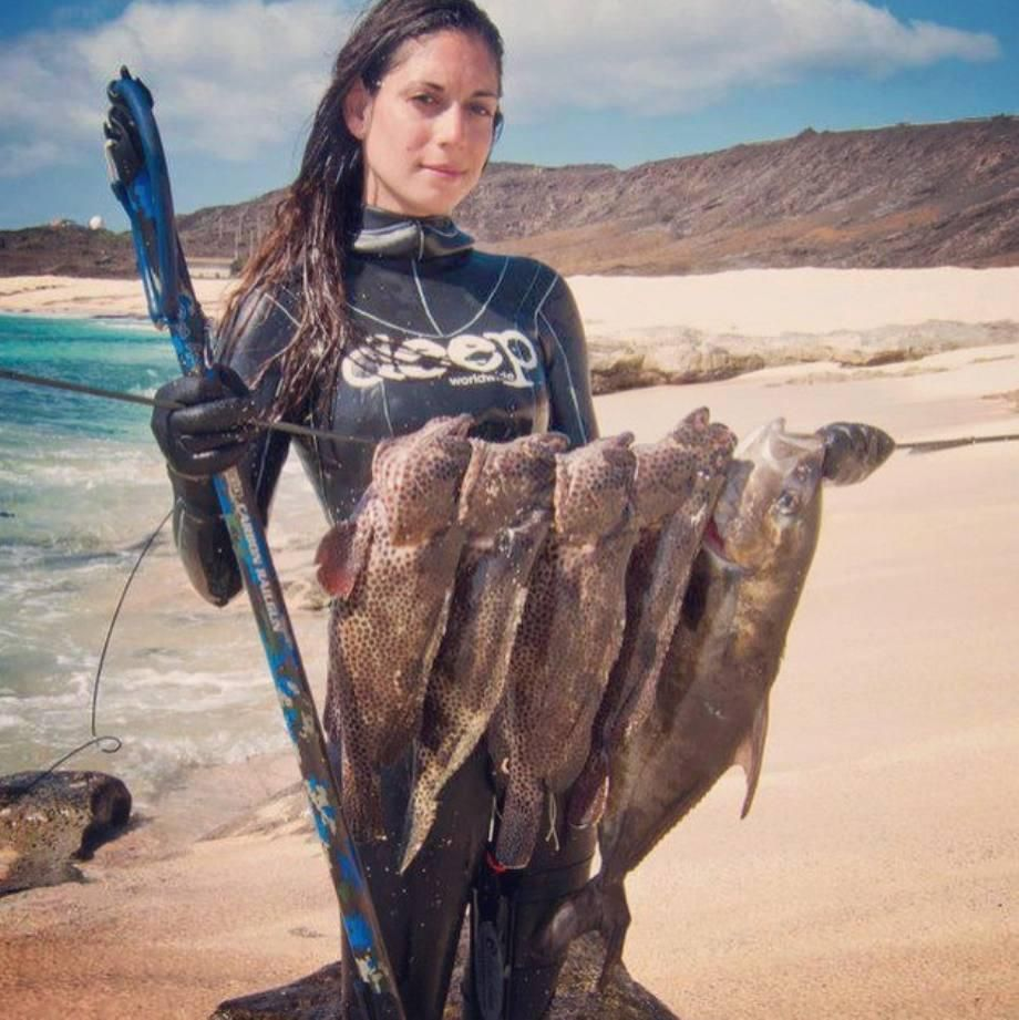 Valentine Thomas Is A Spearfishing World Record Holder (20 Photos)