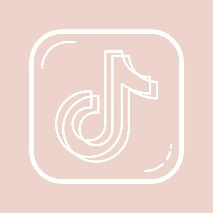 Thanks lovely elly for … Tik Tok Logo Aesthetic in 2021   App icon, Cute app ...