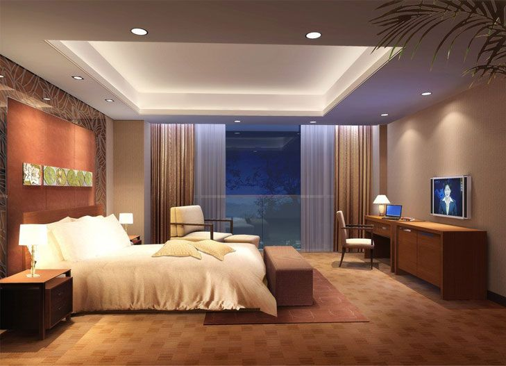 Bedroom Lighting Design Plafond Chambre À Coucher  Faux Plafond  Pinterest  Ceiling