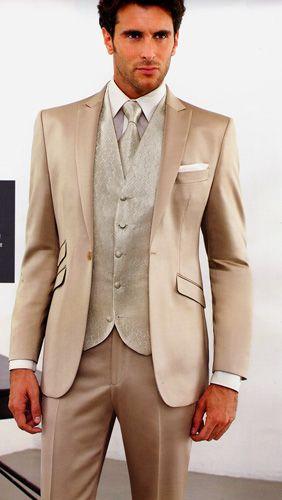 wedding suit beige et dor m le mari pinterest marie. Black Bedroom Furniture Sets. Home Design Ideas