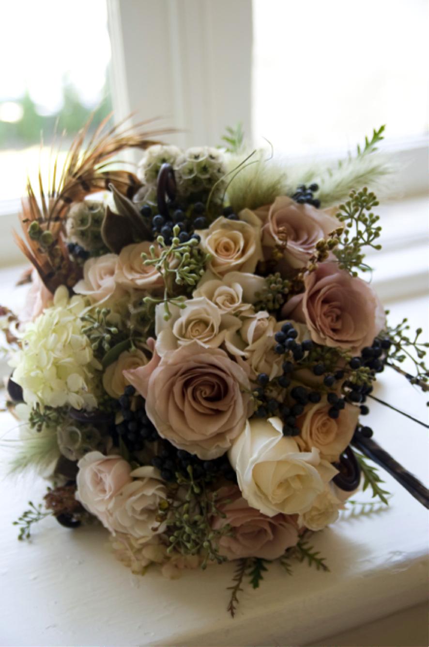 Taupe Flowers Taupe Wedding Wedding Flowers Fall Wedding Flowers