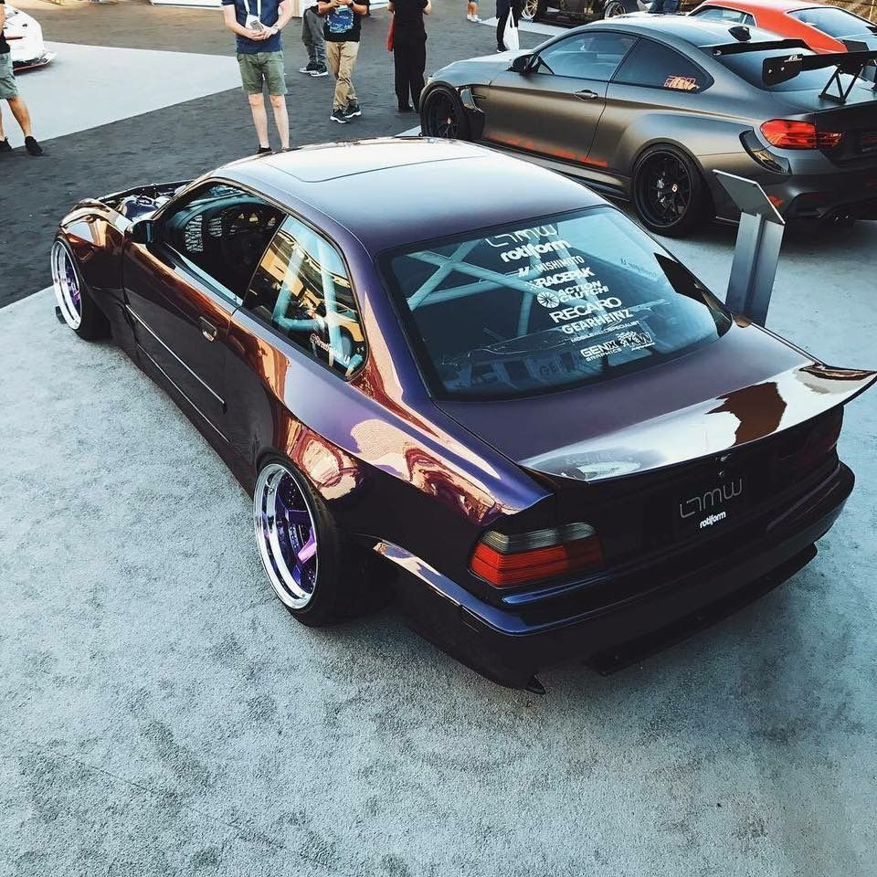 BMW #M3 #E36 #WideBody #Slammed #Stance #Modified | Cars