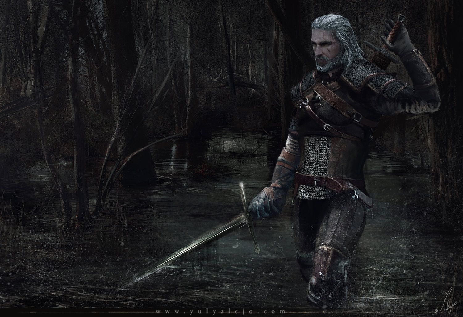 the witcher 3 ladies of the woods
