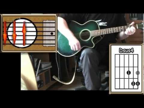 San Francisco Scott Mckenzie Acoustic Guitar Lesson How To