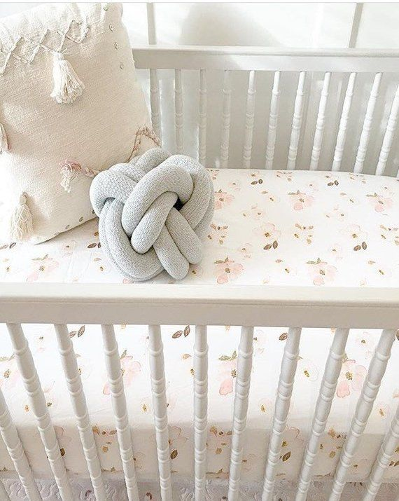 Girls Crib Sheet Blush Bohemian Bedding Mini Crib Sheets Girl