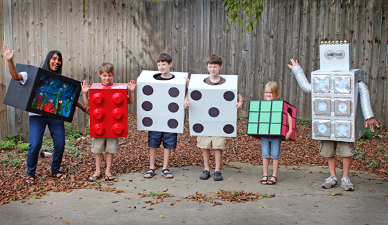 Think Inside The Box To Make A Costume Easy Halloween Costumes - 8 cool and easy to make diy halloween masks for kids