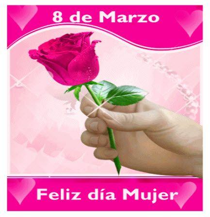 Felíz Día De La Mujer Para Facebook Con Imágenes Feliz Día De La Mujer Día De La Mujer Trabajadora Feliz Día Internacional De La Mujer