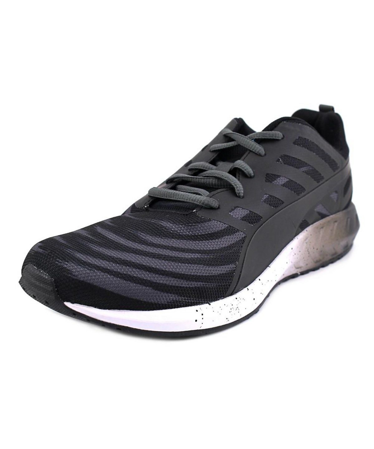 15390ac84706 PUMA PUMA FLARE GRAPHIC MEN ROUND TOE SYNTHETIC BLACK SNEAKERS .  puma   shoes  sneakers