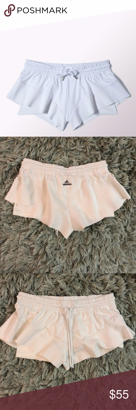 Adidas Stella McCartney Barricade Shorts Large NWT Adidas Stella McCartney Barricade shorts. Size Large. The sleek cuts and precise lines of the adidas by Stella McCartney tennis collection echo the exceptional feminine tailoring for which Stella is known and loved. A style worn by tennis pros Caroline Wozniacki and Garbiñe Muguruza, this Barricade Skirt stands up to the heat in breathable, quick-drying fabric. Adidas by Stella McCartney Shorts