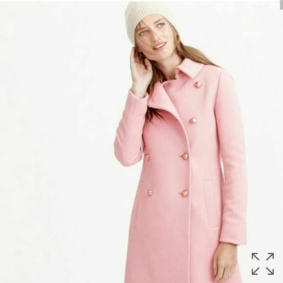 ISO J.Crew Double-Cloth Peruvian Pink Coat 00P I'm desperately in search of this J. Crew Double Cloth Long Peruvian Pink Coat,  preferably in size 00P, BUT WILL TAKE ANY SIZE UP TO A SIZE 4.   It was in J. Crew's Fall/Winter collection in 2015. If you or someone you know has this and wants to sell, I'm interested  :)   Thanks! J. Crew Jackets & Coats