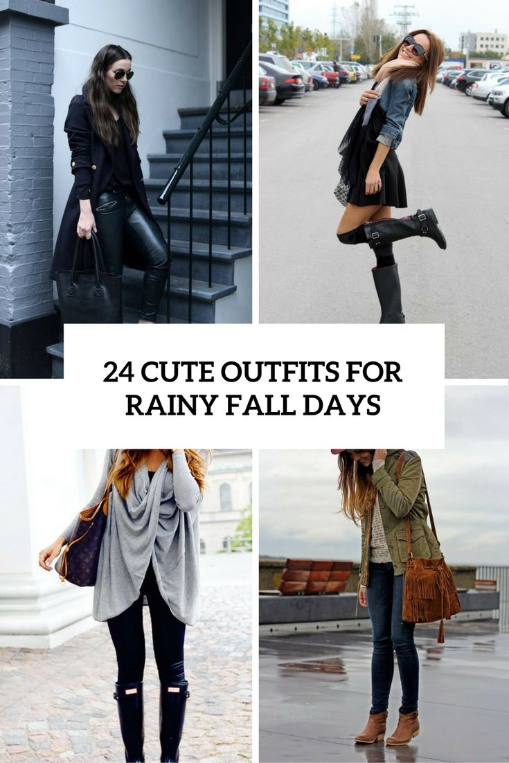 41f0e48a88d 24 Cute Outfits For Fall Rainy Days - Styleoholic