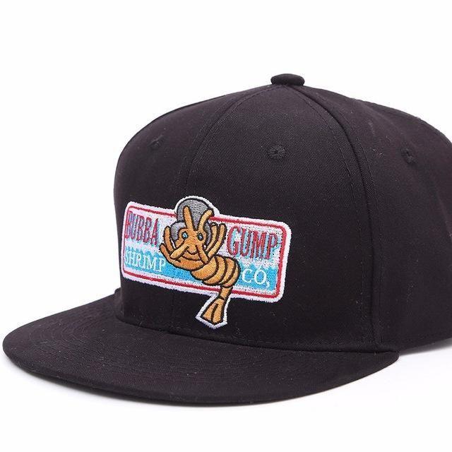 1994 BUBBA FORREST GUMP Baseball Cap Sun Hat Snapback Hip Hop Gift Summer Funny