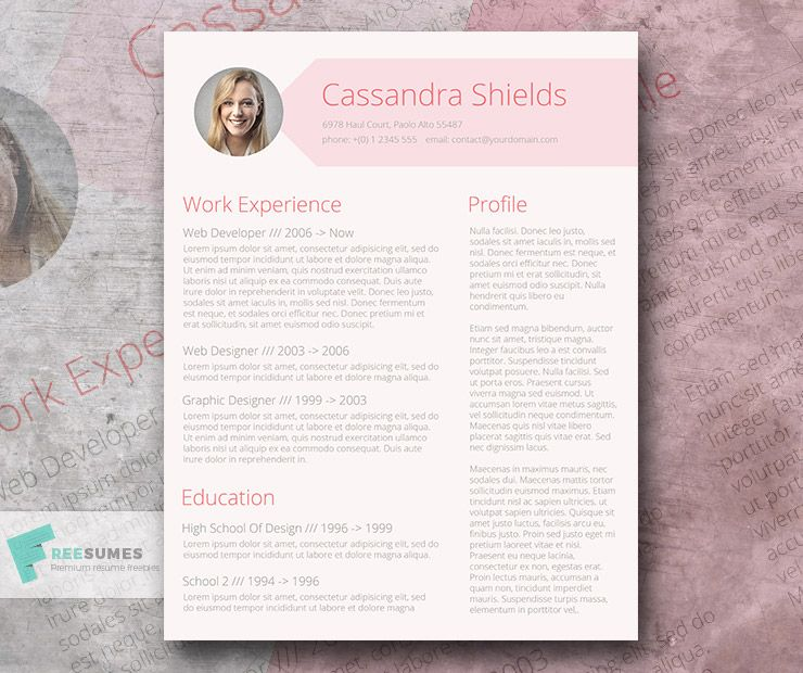 Blush and Pixie   The Pink Resume Template Giveaway - Best free resume templates, Resume templates, Resume template free, Creative resume templates, Resume template, Cv resume template - Stylish and feminine resume template to communicate your silent power and undeniable work expertise  Top choice for professionals in creative industries