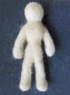 Introduction To Felting: How To Make A Felted Doll - Happy Family Art