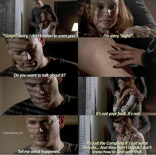 Michael will do anything to protect Sara.