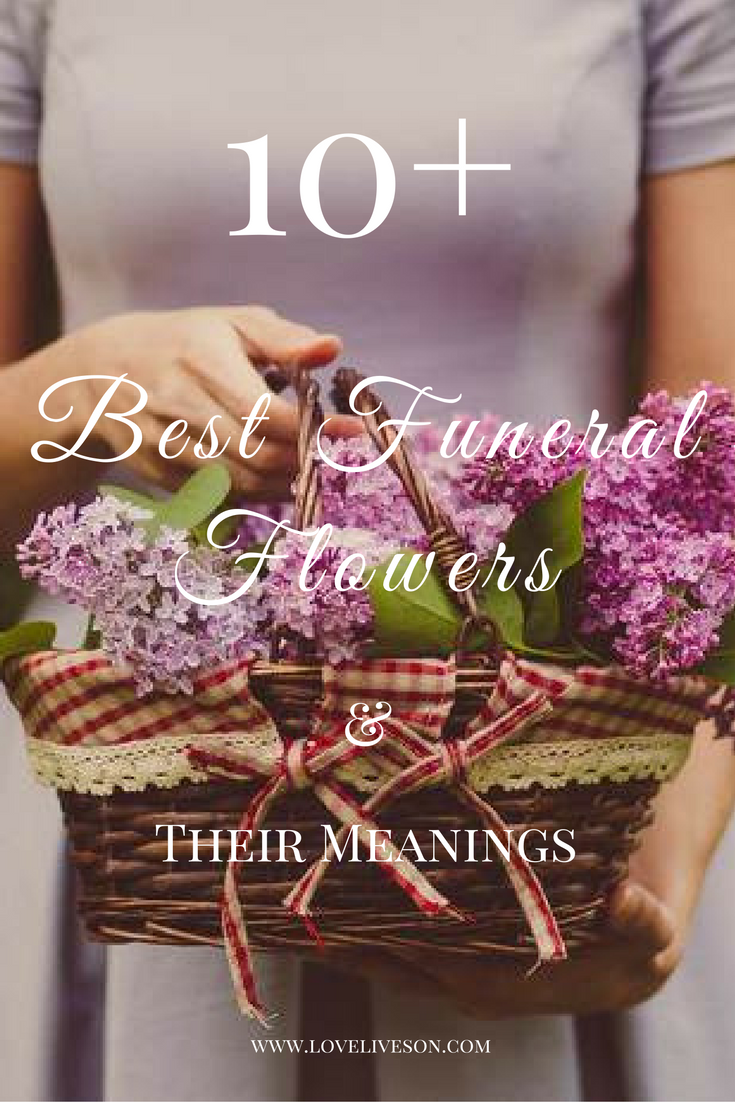 10 best funeral flowers pinterest funeral flowers funeral 10 best flowers for funeral flower arrangements express your sympathy grief with a meaningful bouquet loveliveson izmirmasajfo
