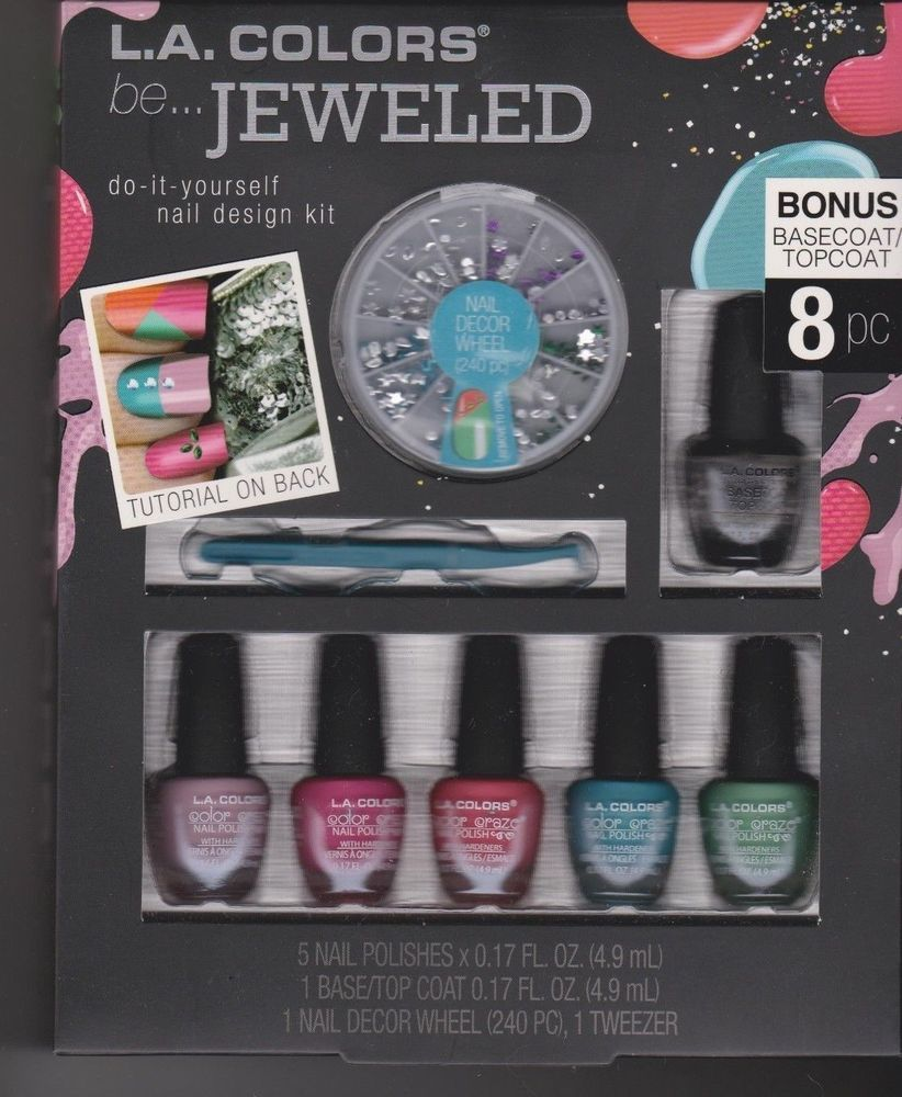 La colors be jeweled diy do it yourself nail design kit solutioingenieria Images