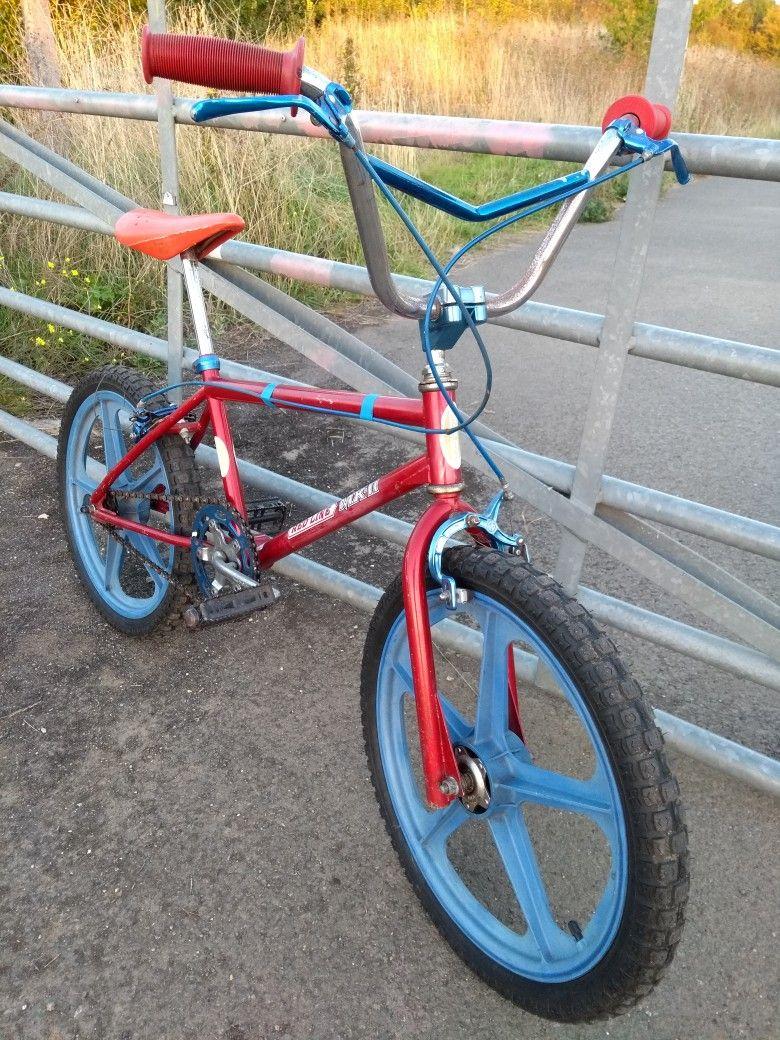 Skyway TA retro style tee t shirt 80s BMX GT Raleigh Burner SE Bikes Redline