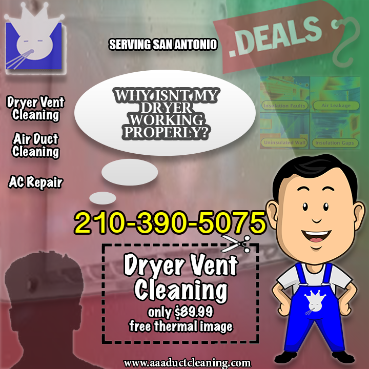 More Info Dryer Vent Cleaning 89.99 Call 2103905075