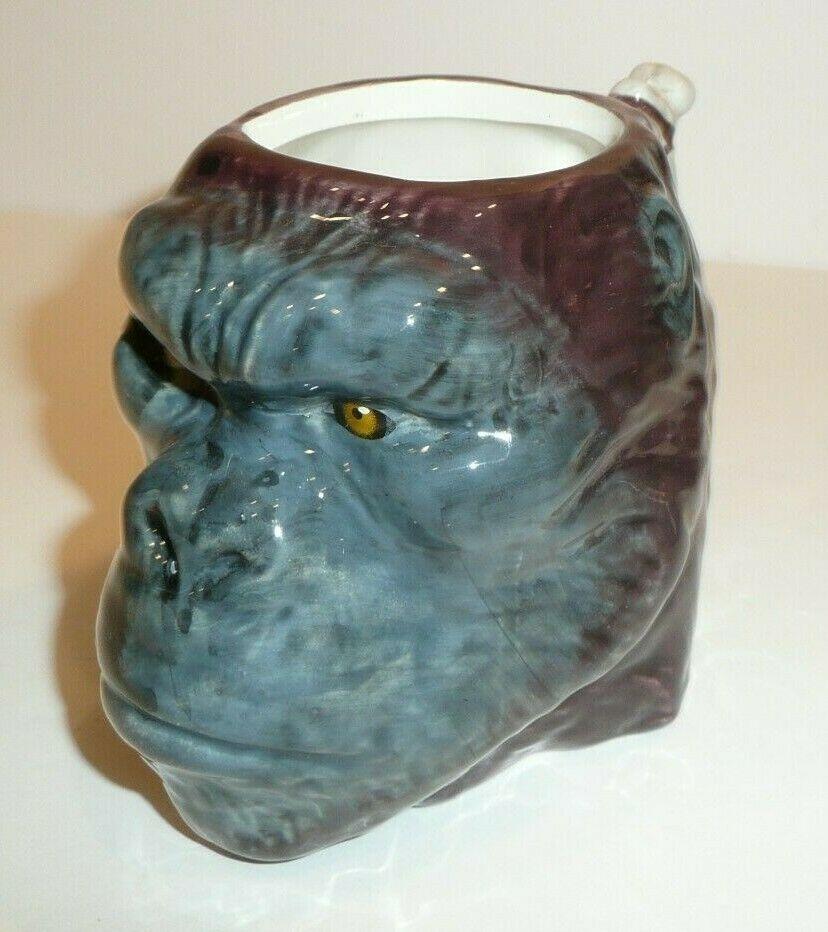 King Kong Head Coffee Cup Mug Novelty King Of The Apes