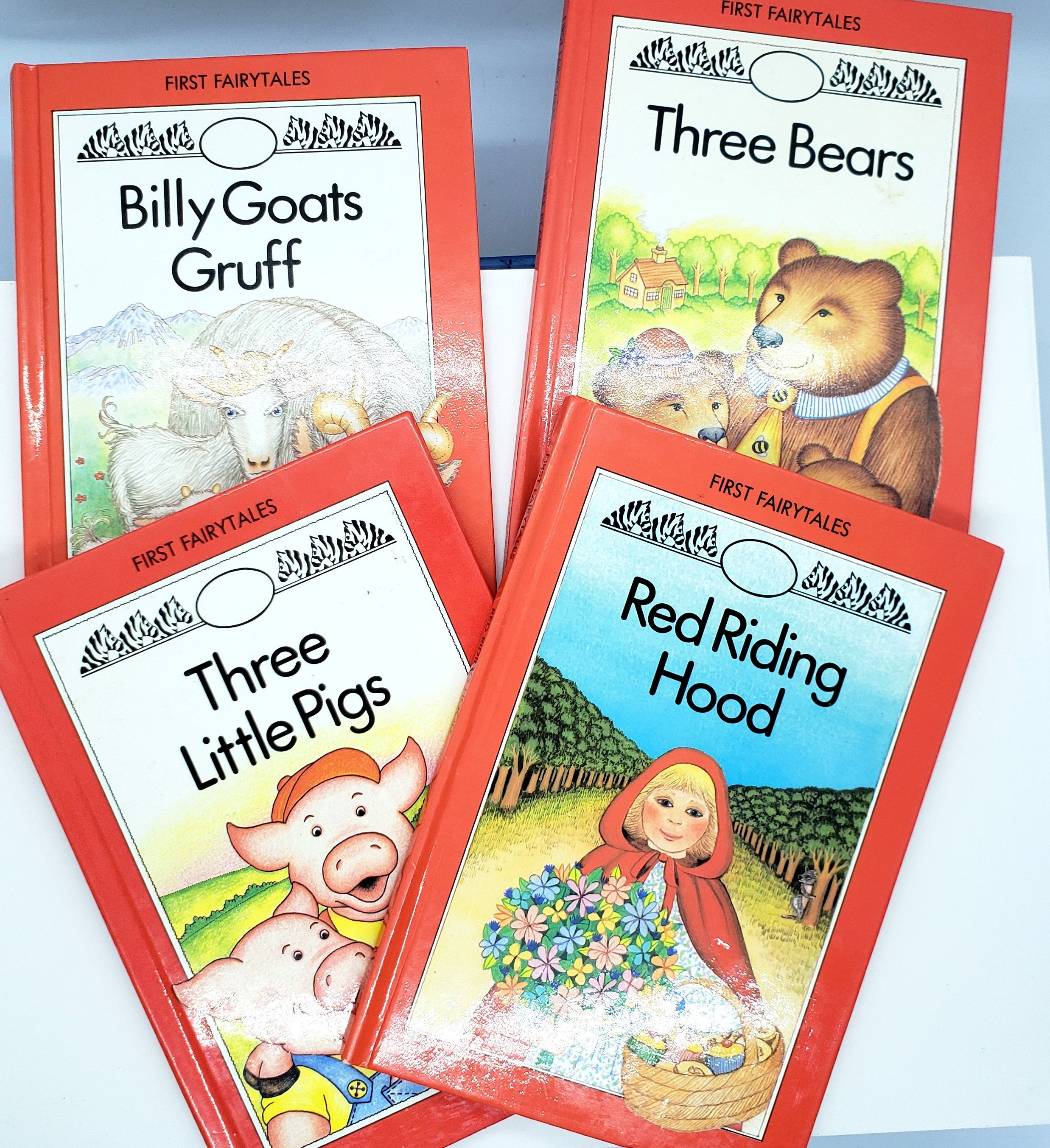 First Fairy Tales Series Books For Children Set Of Four Etsy Tales Series Fairy Tales Fairy Tail Books
