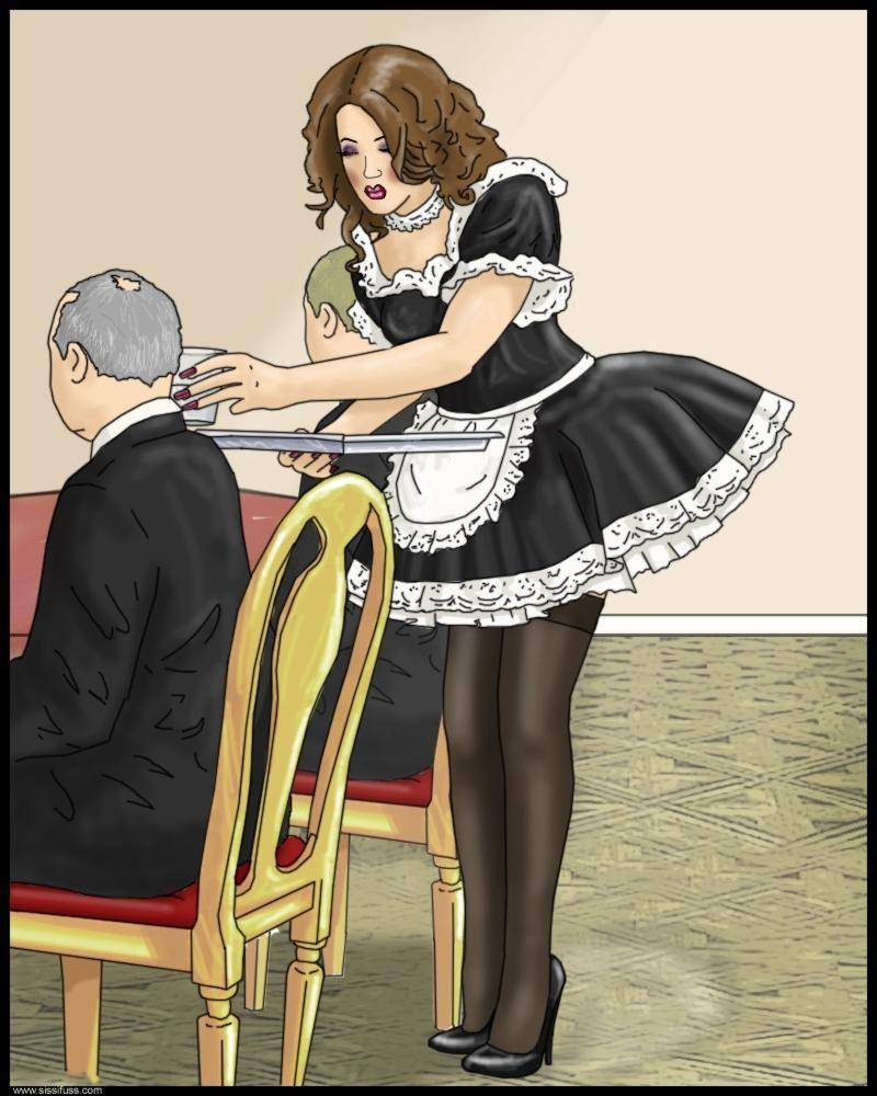 """sissichloe: """"Sissy Maid !!! What a wonderful shoes, dress ..."""