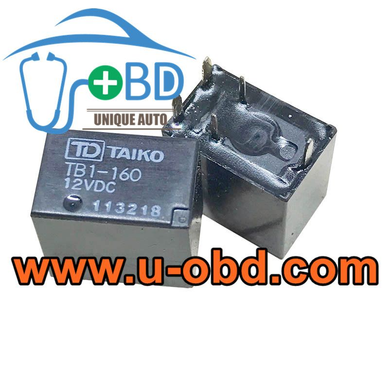 Tb1 160 12vdc Honda Accord Vulnerable Bcm Relays Car Ecu Auto Locksmith