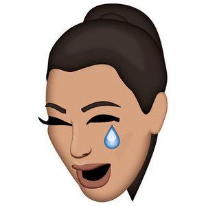 Kimoji Crying Emoji Kardashian Emoji Emoji