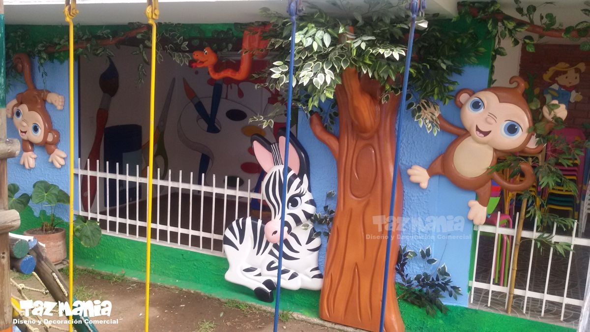 Dise O Y Decoraci N Para La Zona De Juegos Del Jard N Infantil  # Muebles Safari Bucaramanga