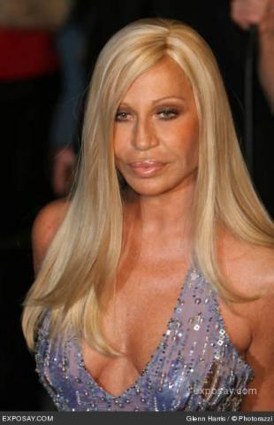 Pin On Donatella Versace