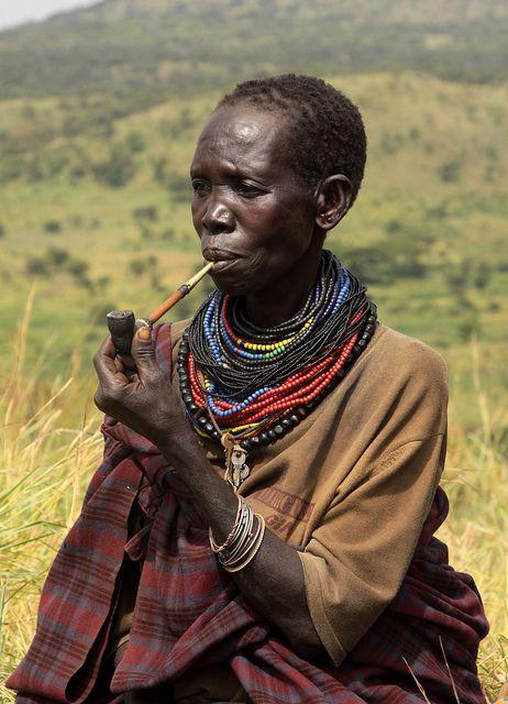 Uganda - tribes and culture | Tepeth boy. Karamoja - A