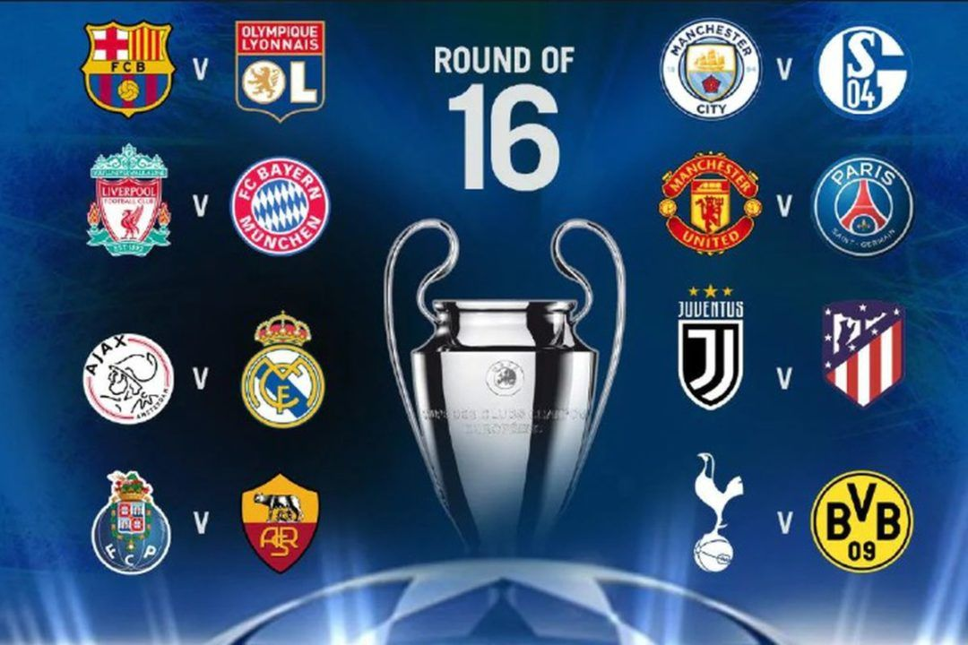 Champions league knockout stages draw date and qualified