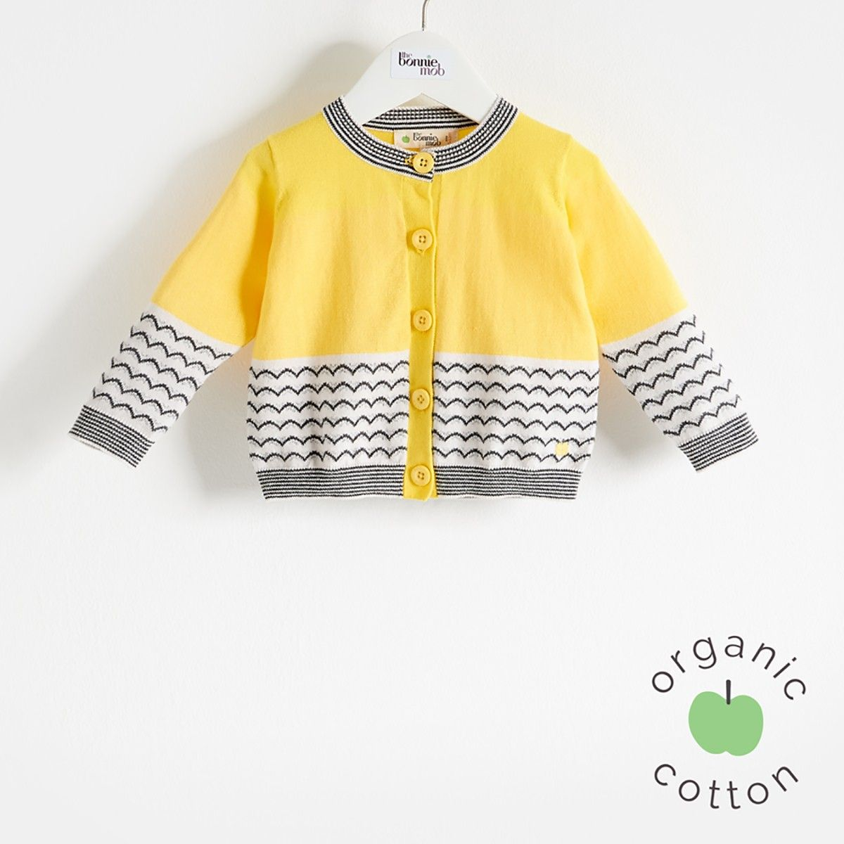 The Bonnie mob SS16 - The Life Aquatic. GILL Organic Cotton Yellow ...