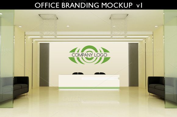 Office Branding Mockup V1 By Aivos On Creative Market