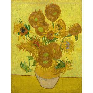 Obraz Vincenta van Gogha - Sunflowers, 60x80 cm