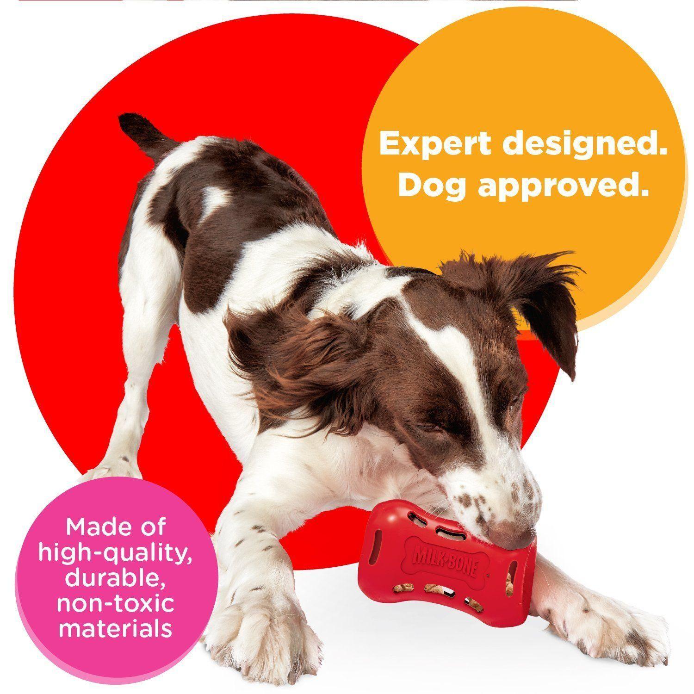 Milkbone Active Treat Tumbler Interactive Dog Treat Dispensing Dog